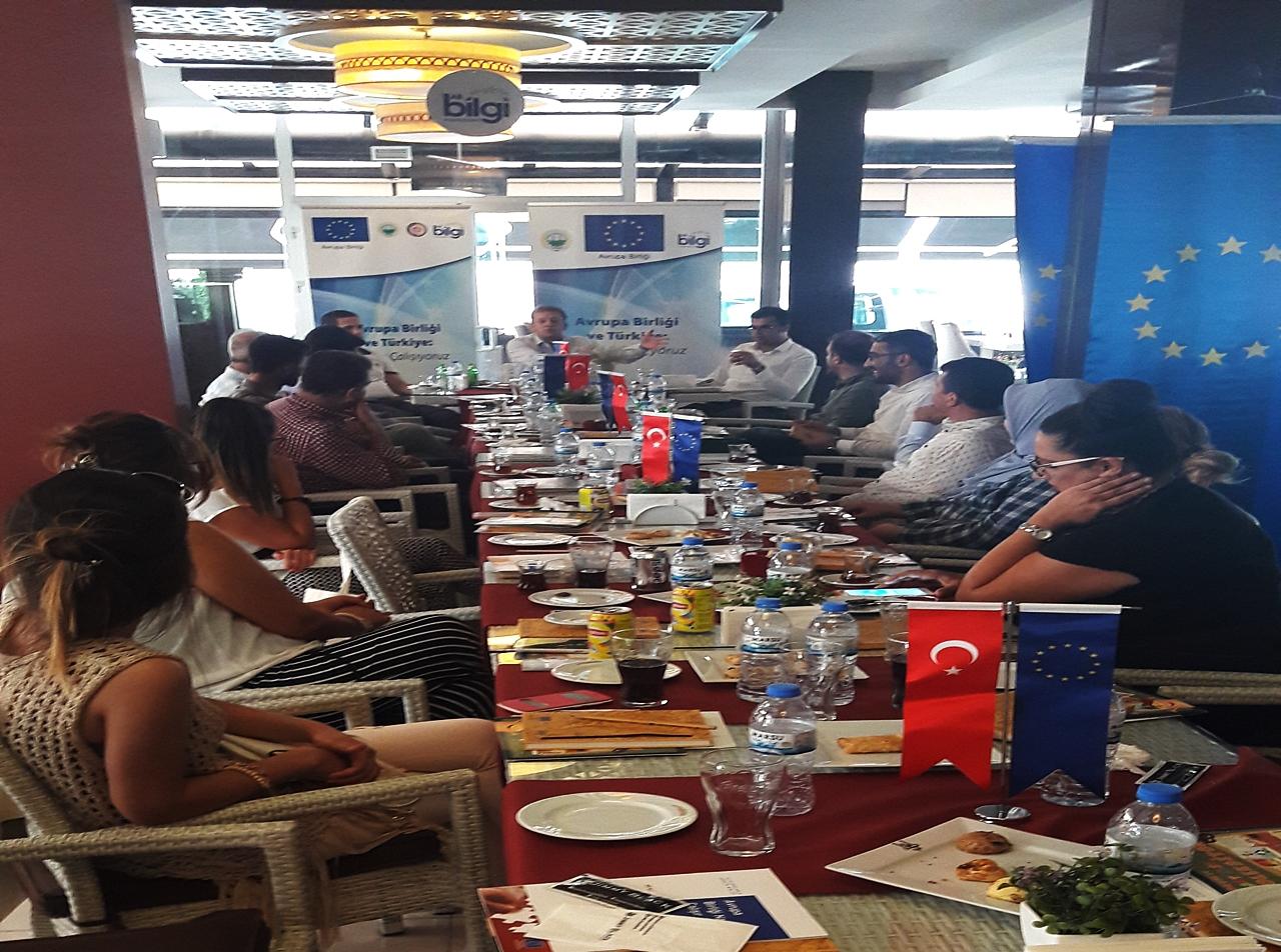 ŞUTSO AB BİLGİ MERKEZİN'DEN ADIYAMAN'DA PANEL