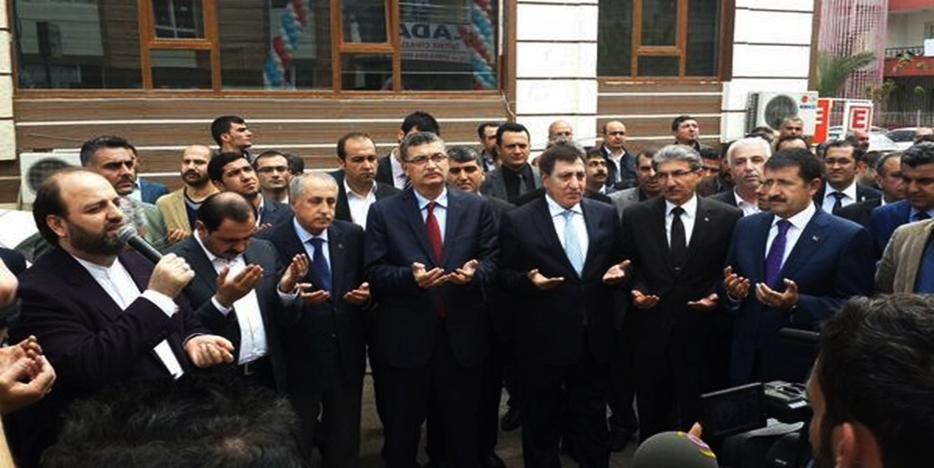 Başkan Ertekin, İlim Yayma Cemiyeti'nin Açılışı'na Katıldı