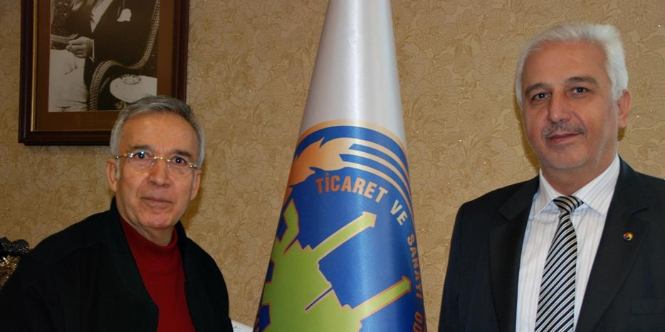 Başkan Ertekin, Yavuz Donat'ı Ağırladı