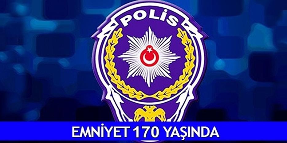 BAŞKAN ERTEKİN, POLİS TEŞKİLATI'NIN 170. YILINI KUTLADI