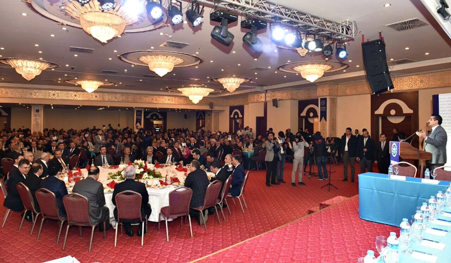 BAŞKAN DEMİRKOL, İSTİŞARE TOPLANTISI'NA KATILDI