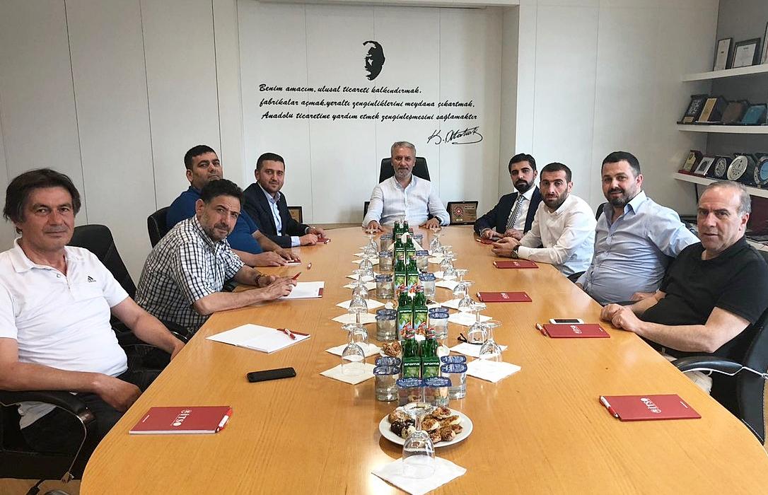 ŞUTSO 2.MESLEK GRUBU İSTİŞARE TOPLANTILARI'NDA BULUNDU