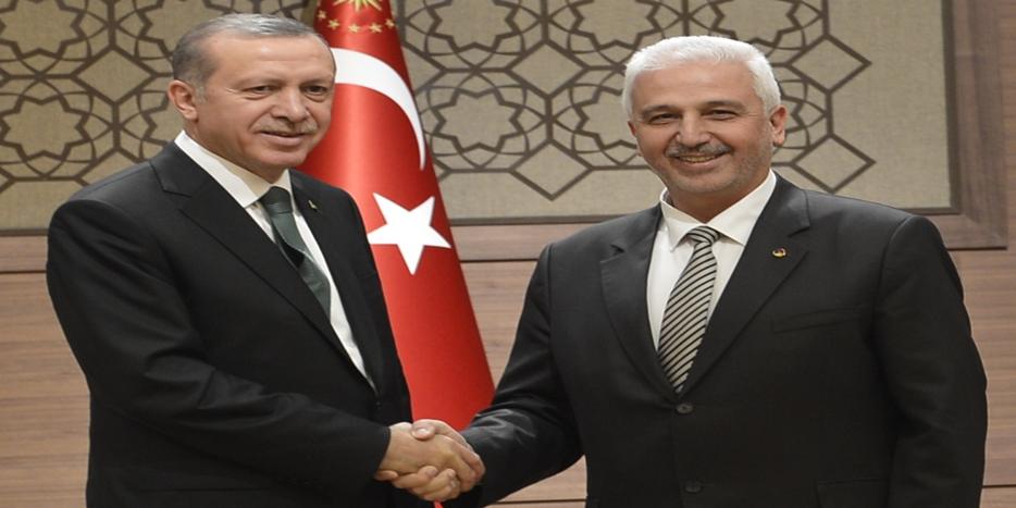BAŞKAN ERTEKİN'DEN CUMHURBAŞKANI ERDOĞAN'A ÖNEMLİ RAPOR