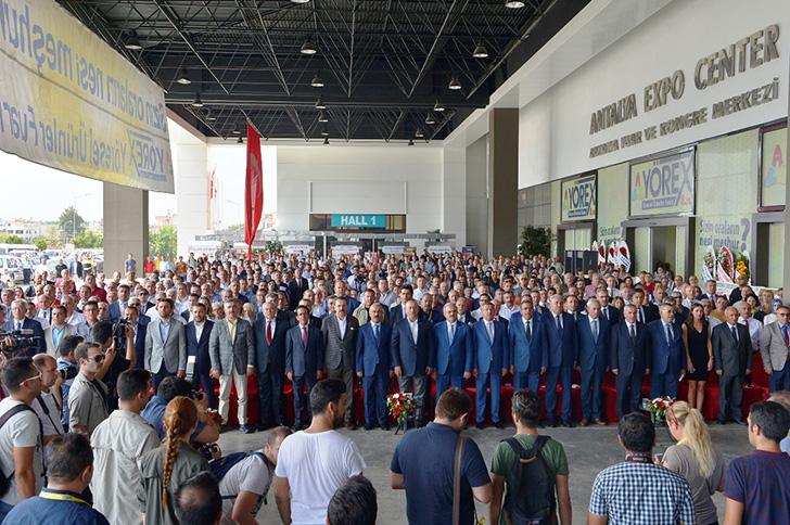 ŞUTSO HEYETİ YÖREX'E KATILDI
